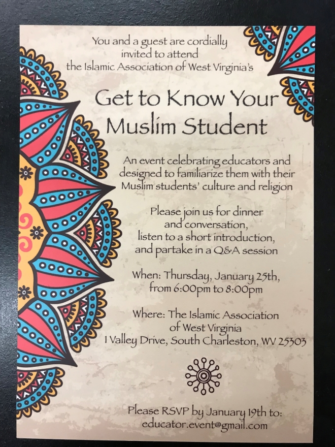 get to know your muslim student