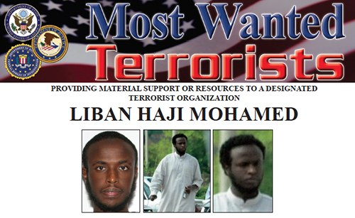 Liban Haji Mohamed FBI most wanted