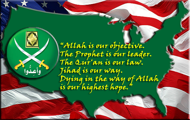 map-us-muslim-brotherhood-motto-waving-us-flag