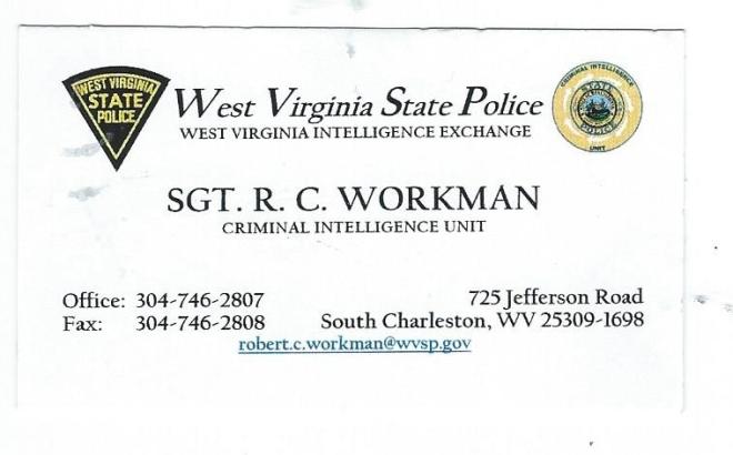 RC Workman card