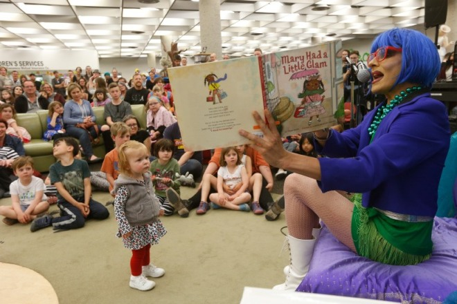 drag queen story hour in spokane june 15, 2019
