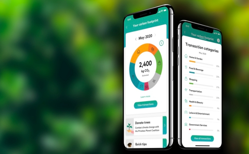 MasterCard introduces app for banks that will track your spending habits and measure your carbonfootprint